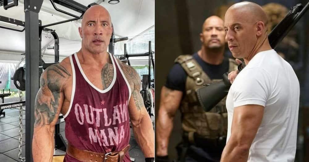 Vin Diesel, feud, Dwayne 'The Rock' Johnson, 'Fast Five', 'Fast & Furious', 'Rio Heist'