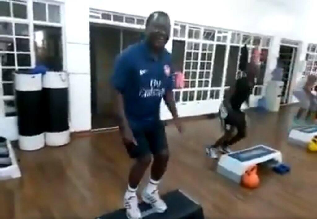 Raila Odinga afanya mazoezi ya nguvu sana, tazama ilivyokuwa (Video)