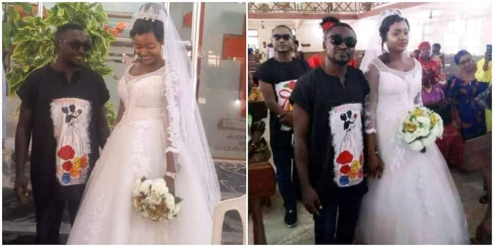 Benue man shows ditches suit, gets married in dashiki and jeans