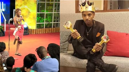 """Comedian Eric Omondi Attributes His Success To Luck: """"I'm not funniest comedian"""""""