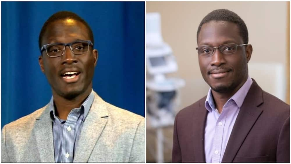 Nigerian Onyema has made great inputs in the field of medicine. Photos sources: BBC, Arise TV