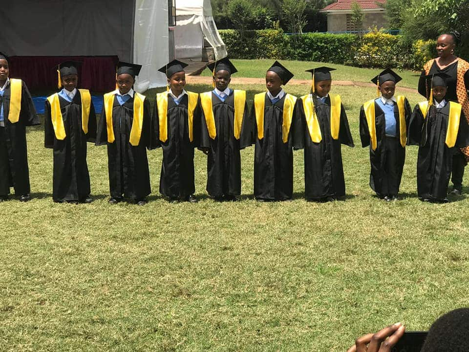 Heartwarming photos from Sonko's adopted son graduation ceremony