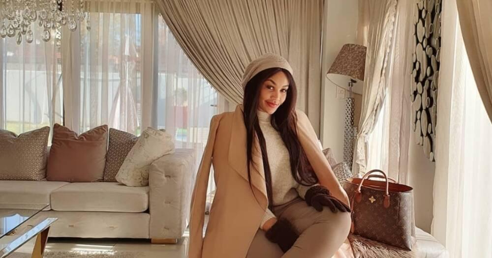 Tis the season: Zari Hassan shows off stunning Christmas decorations at plush SA home
