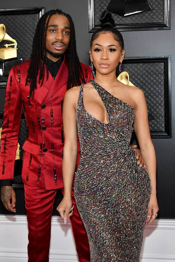 Rapper Quavo sends girlfriend surprise roses as count down to Valentine's
