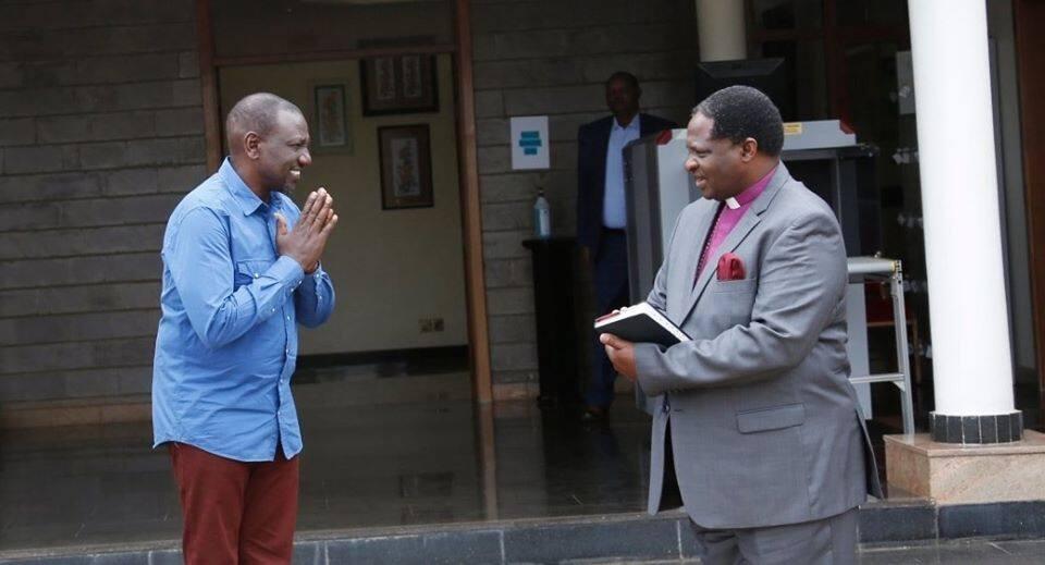 Kuteseka ni kwa muda tu! DP Ruto asema baada ya kukutana na viongozi wa kanisa kutoka Mt Kenya