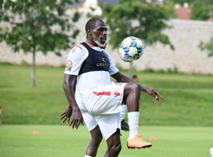 Afcon 2019: 'Old Man' Joash, Harambee Stars defender goes blonde after social media trolling