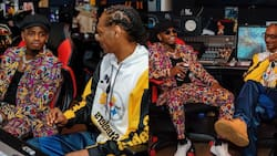 Diamond Spotted Hanging Out With Snoop Dogg While on US Trip