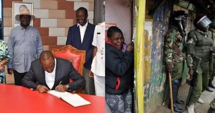 Uhuru, Raila wafanya mazungumzo ya kuwafidia waathiriwa wa vita vya uchaguzi wa 2017 Nyanza