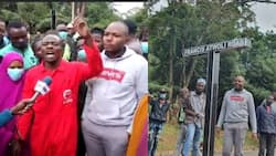 Francis Atwoli Supporters Fundraise to Put Up New Signage at Dik Dik Road