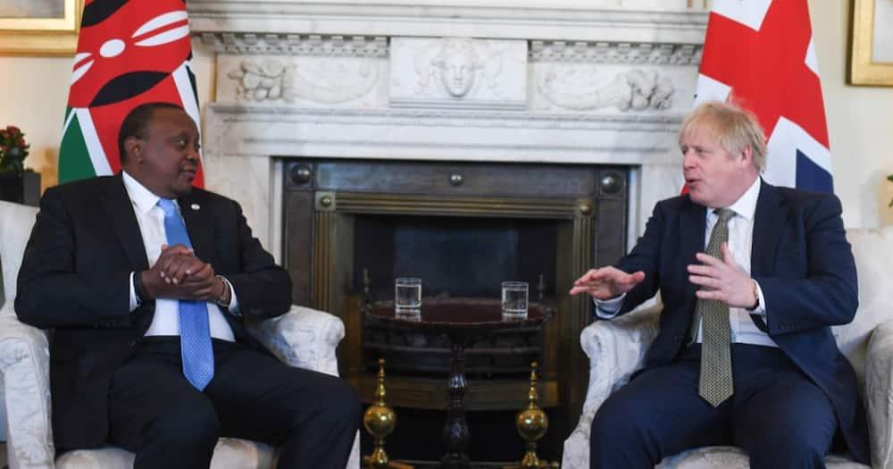 UK Prime Minister Boris Johnson Speaks to Uhuru on Phone, Agree to Raise KSh 539b for Education