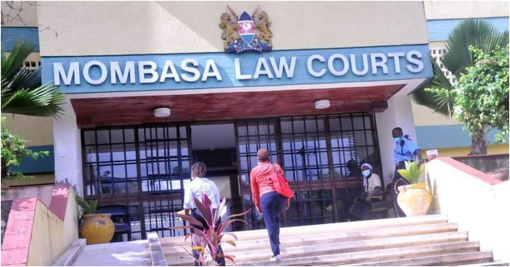Mombasa Law Courts in this picture taken on July 9, 2020. Photo: Nation.