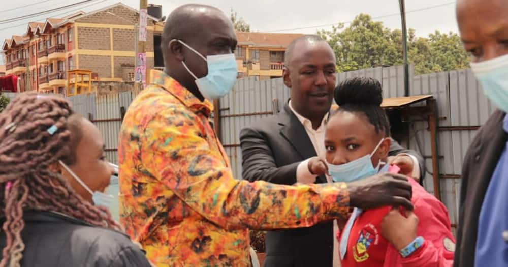 The two girls were on the brink of missing their Form One admission at Loreto Girls.