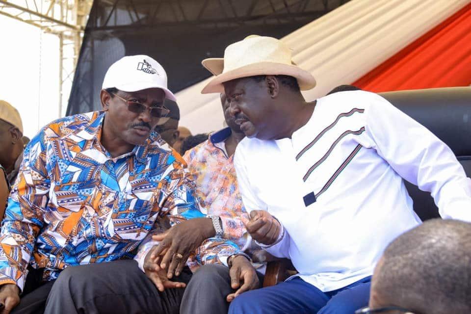 Kalonzo Musyoka insists he has power pact with Raila Odinga