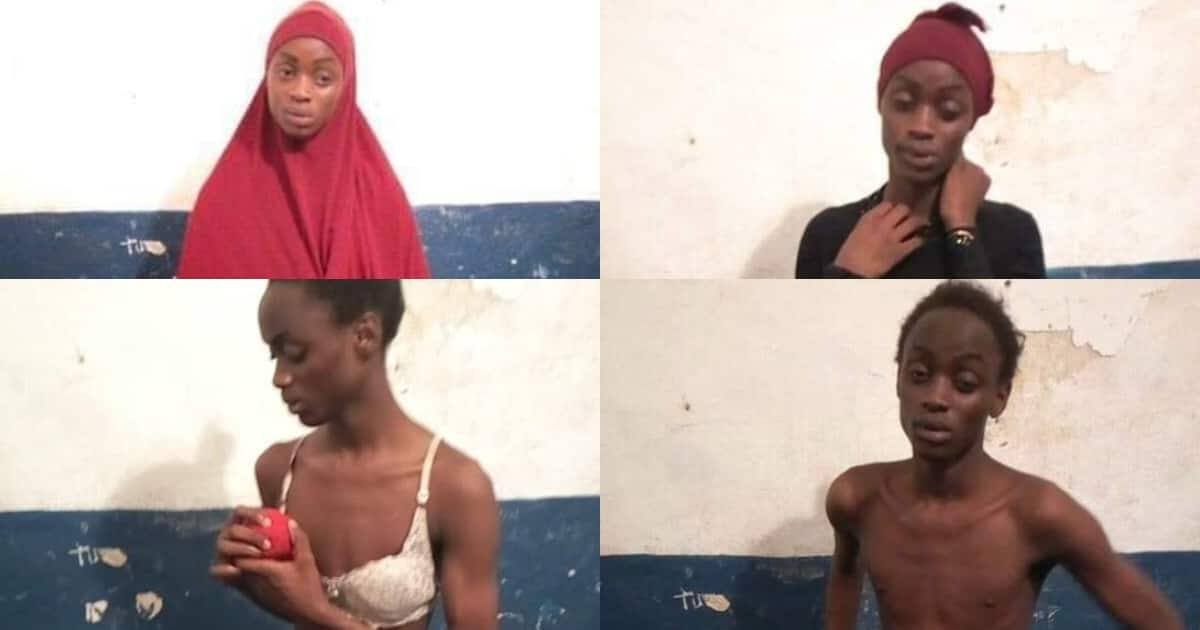 Makueni man arrested in Lamu while wearing Muslim female clothes complete with a bra
