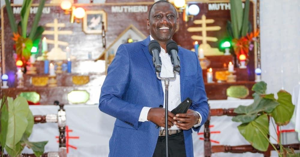 William Ruto visited Kiambu on Sunday, September 19.