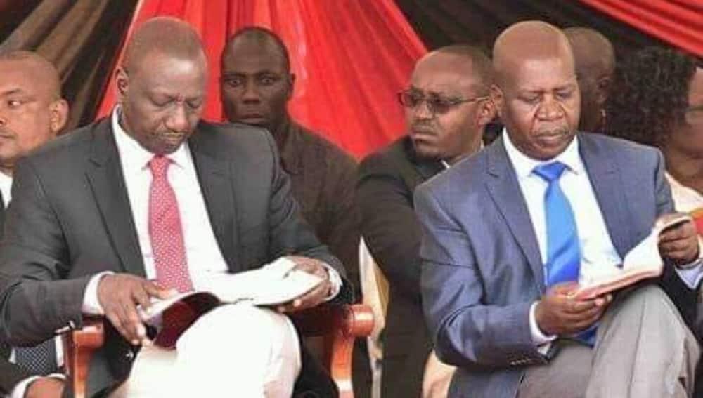 DP William Ruto aomboleza kifo cha mama yake Mbunge Cornelly Serem