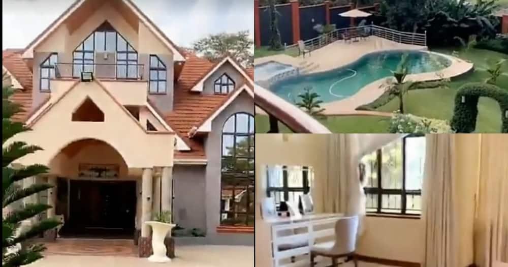 Joan Kubai: Beautiful teen leaves netizens in awe with tour of palatial Runda residence