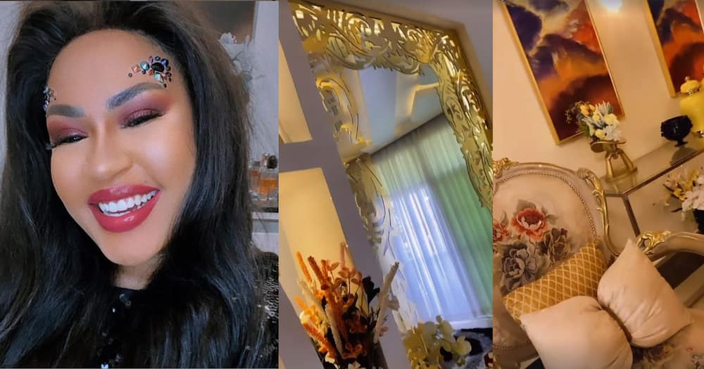 Amber Ray's Co-Wife Amira Shows Off Elegant Mansion She Shares with Jamal Roho Safi