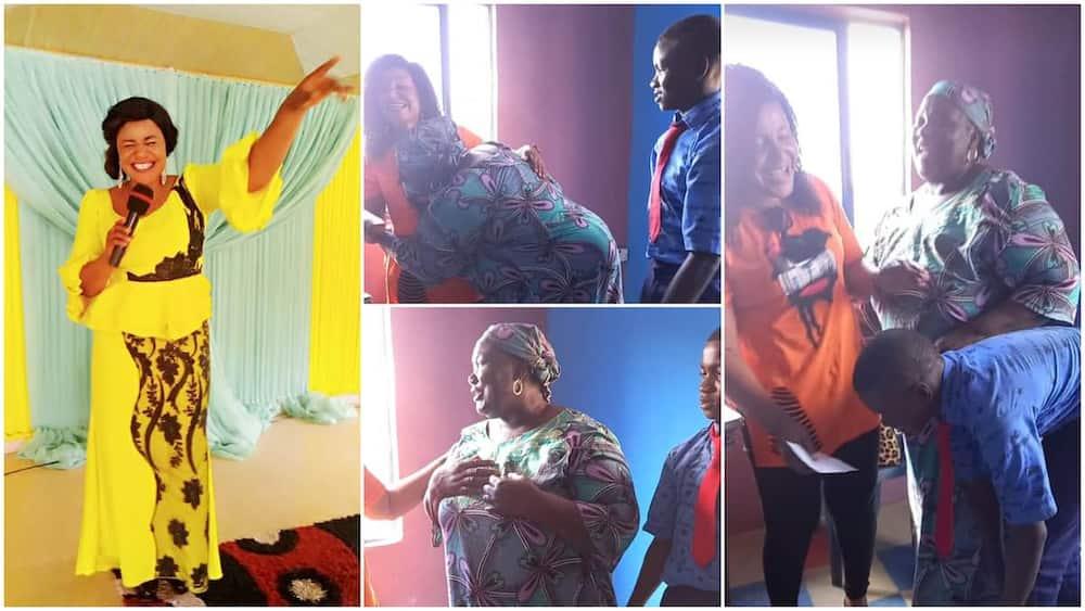 Pastor Juliet Olele rescues widow