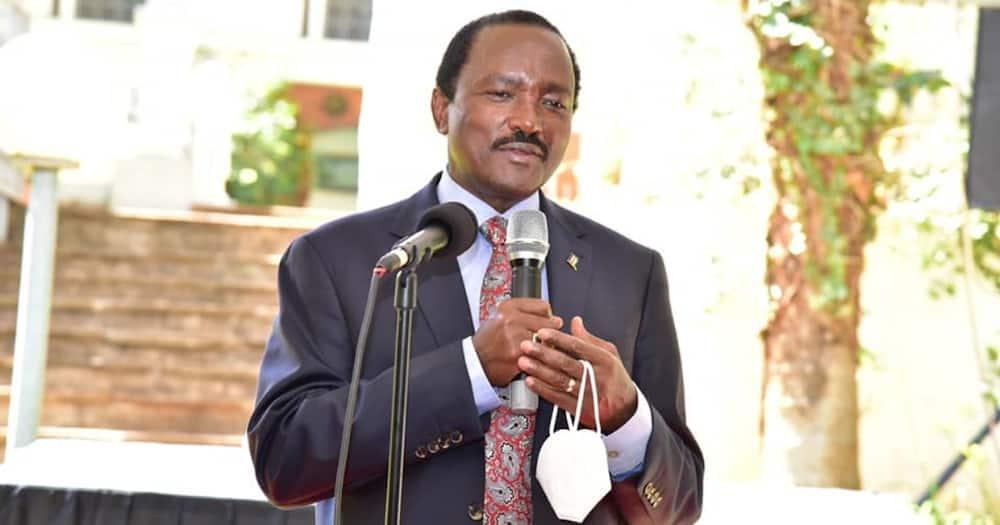 Kitui senator Enoch Wambua said Kalonzo (pictured) was on a private visit to Turkey.