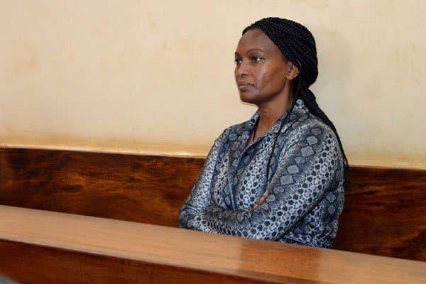 Dutch tycoon Tob Cohen's widow Sarah Wairimu in a pass hearing. Photo: Nation