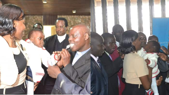 KNH Doctors Celebrate as Baby Born Weighing 400 Grams Turns 10 Years Old