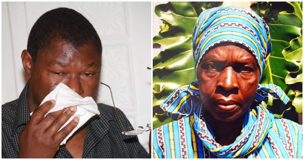 Faustina was the mother to Tony Waswa, who succumbed to COVID-19 in 2020. Photo: TV47.