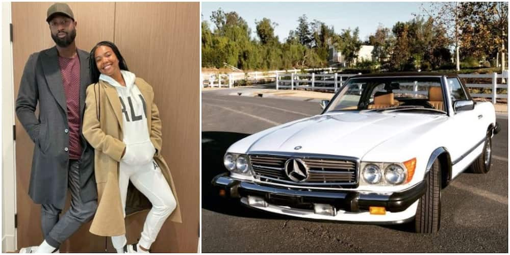 Actress Gabrielle Union gifts husband Dwyane Wade vintage BMW ahead of 39th birthday (photo)