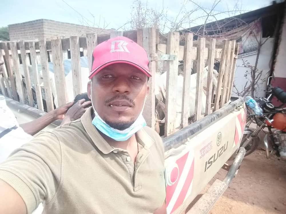 Mwanahabari Ben Kitili ageukia ufugaji