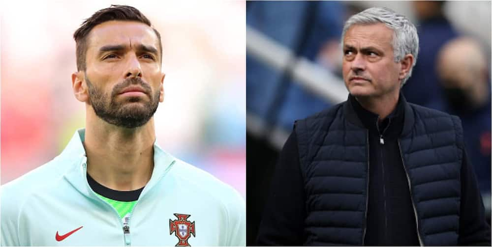 Roma boss Mourinho makes U-turn on De Gea as he looks to sign highly-rated Portuguese goalkeeper