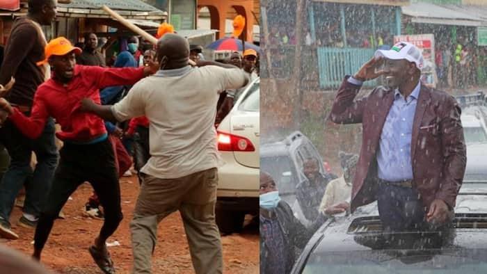 Watu Kadhaa Wajeruhiwa Baada ya Wafuasi wa Chama cha UDA na ODM Kushambuliana Kisii