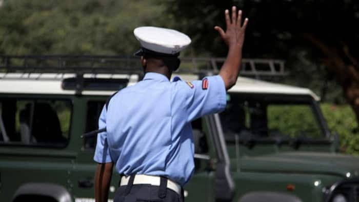 Nyeri: Local church thanks police officers for selfless work, gifts them with goodies