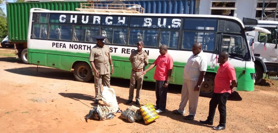 Voi: Police arrest 3 people for ferrying bhang using church bus