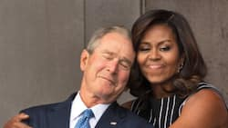 George Bush Says He Is Shocked by People's Reactions to His Friendship with Michelle Obama