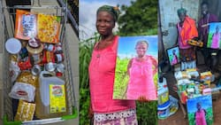 Man Touches Life of 72-year-old Woman, Buys Goodies for Her