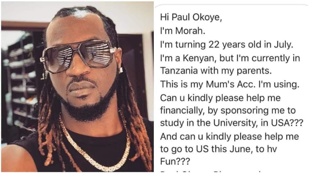 Former P-Square member slams Kenyan fan who asked him for