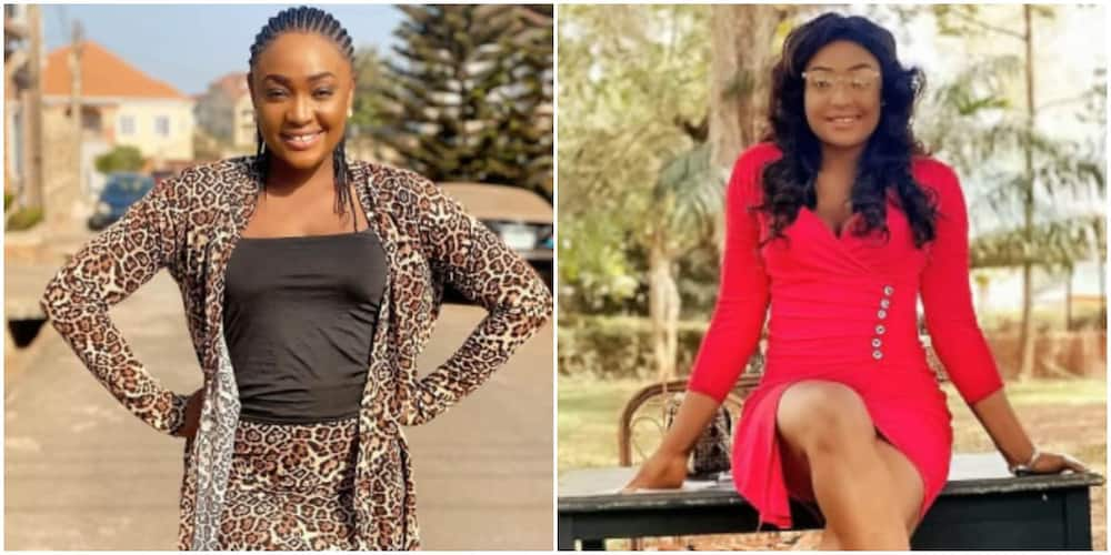 Actress Lizzygold says God already divided responsibilities between men and women