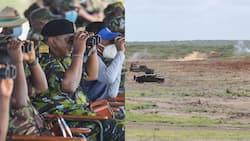 Uhuru Kenyatta Visits Boni Forest, Warns Enemies Against Invading Kenya's Territory