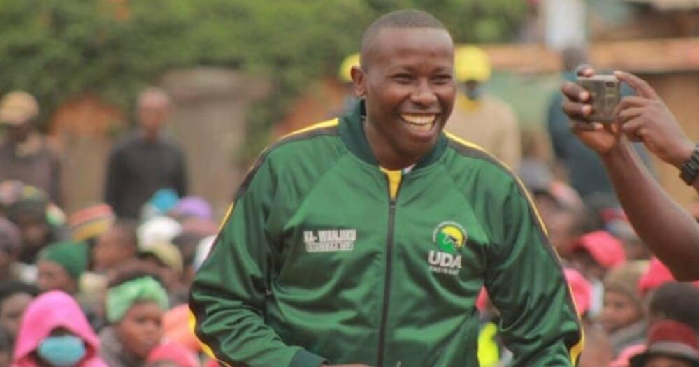 Kiambaa United Democratic Alliance (UDA) candidate John Wanjiku. Photo: Njuguna Wa Wanjiku.