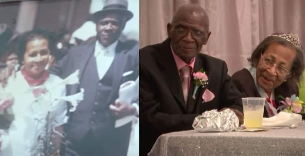 A Couple just Celebrated 82 Years of Marriage; they Shared Simple Advice to Making love last in a Video.