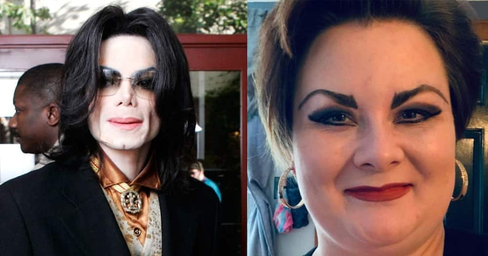 Kathleen Robers is married to the ghost of Michael Jackson.