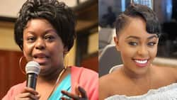 """Millie Odhiambo gushes over Lilian Muli's hair: """"Your stylist is on point"""""""