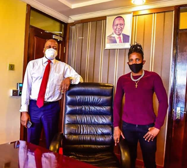 Zaddy cool: Eric Omondi shows off well-toned muscular body