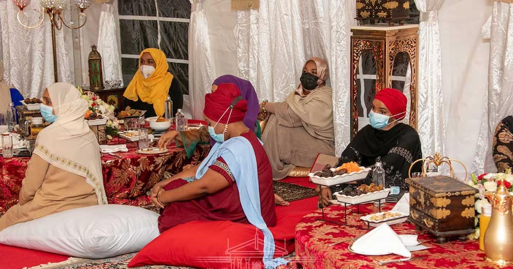 Lulu Hassan Thankful for Chance to Dine with Samia Suluhu during Iftar