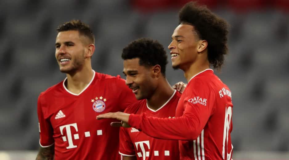 New signing Leroy Sane, Lewandowski shine as Bayern Munich run rion in opening day of the season