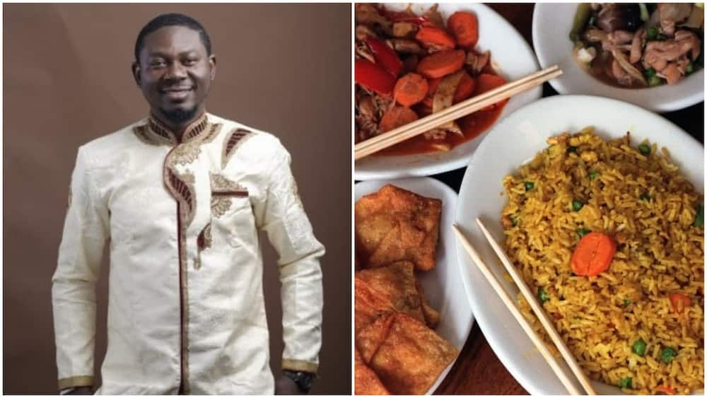 Man who earns N20k monthly takes girl on date as ate N10k food, drama erupts