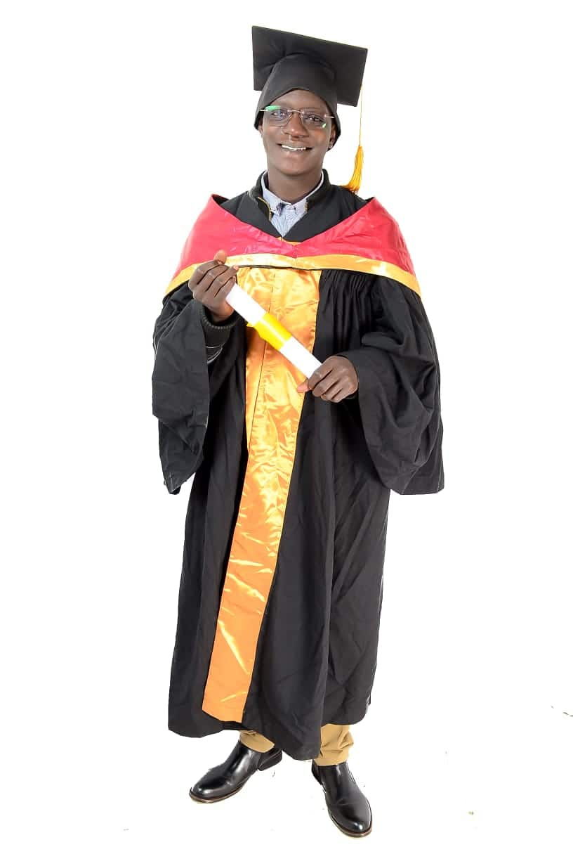 Huyu ndiye kijana aliyefuzu na shahada ya 'Masters' akiwa na umri mdogo zaidi Kenya?