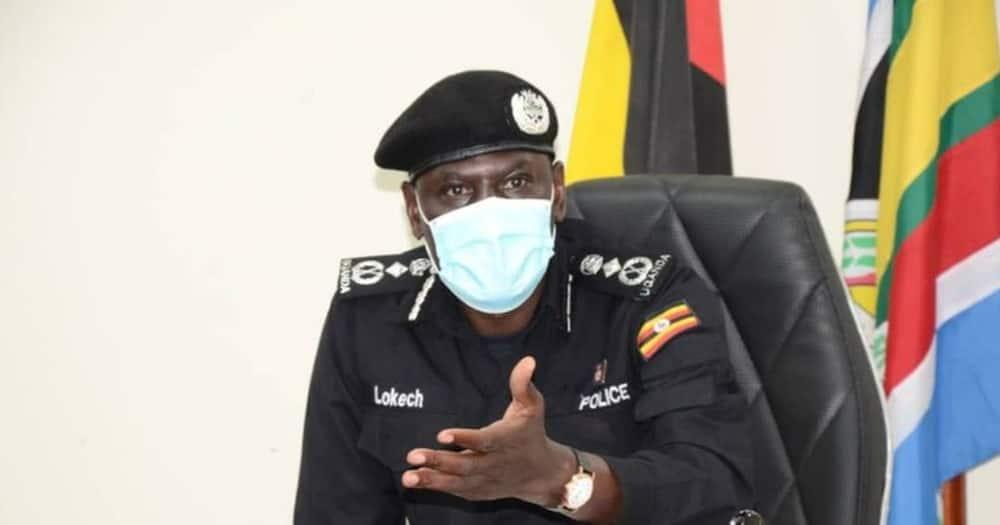 Uganda's Deputy Inspector General of Police Paul Lokech.