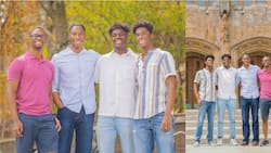 The Wade Quadruplets Who Attended Prestigious Yale University Together Graduate Same Day