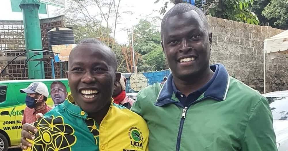 Ruto asked the Kiambaa residents to vote for Wanjiku, saying his win will signify UDA's win in 2022.